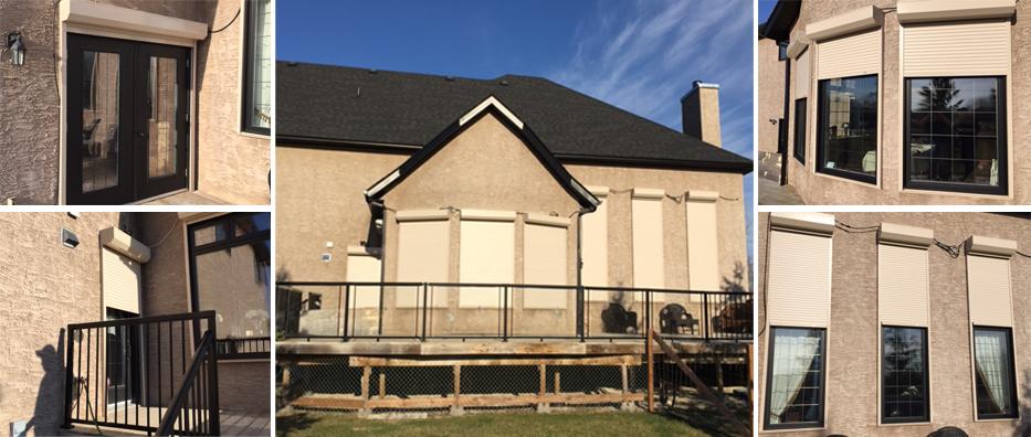 residential roll shutters winnipeg brandon