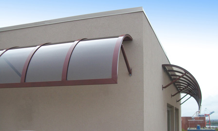 SunGuard Romanza awnings for business