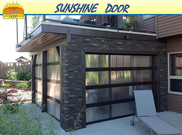 Garage Doors Winnipeg >> Let the Sun Shine In with a Sunshine Door - Overhead Door of Winnipeg & Brandon