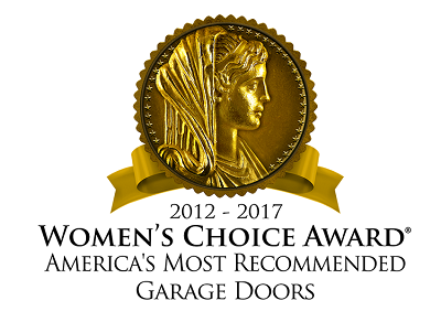 womens-choice-award-for-garage-doors-2017